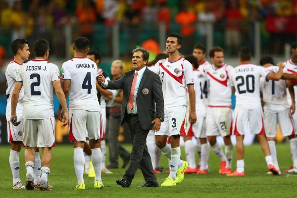 Costa Rica from the CONCACAF