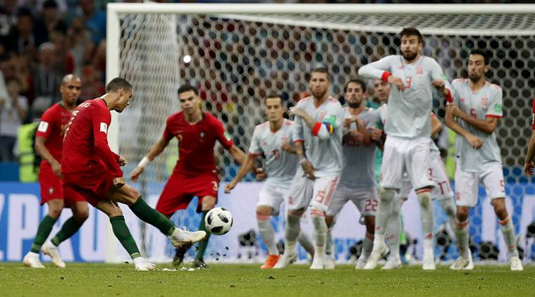 Hits and misses from the Spain versus Portugal match