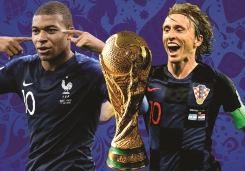 Image result for croatia france final